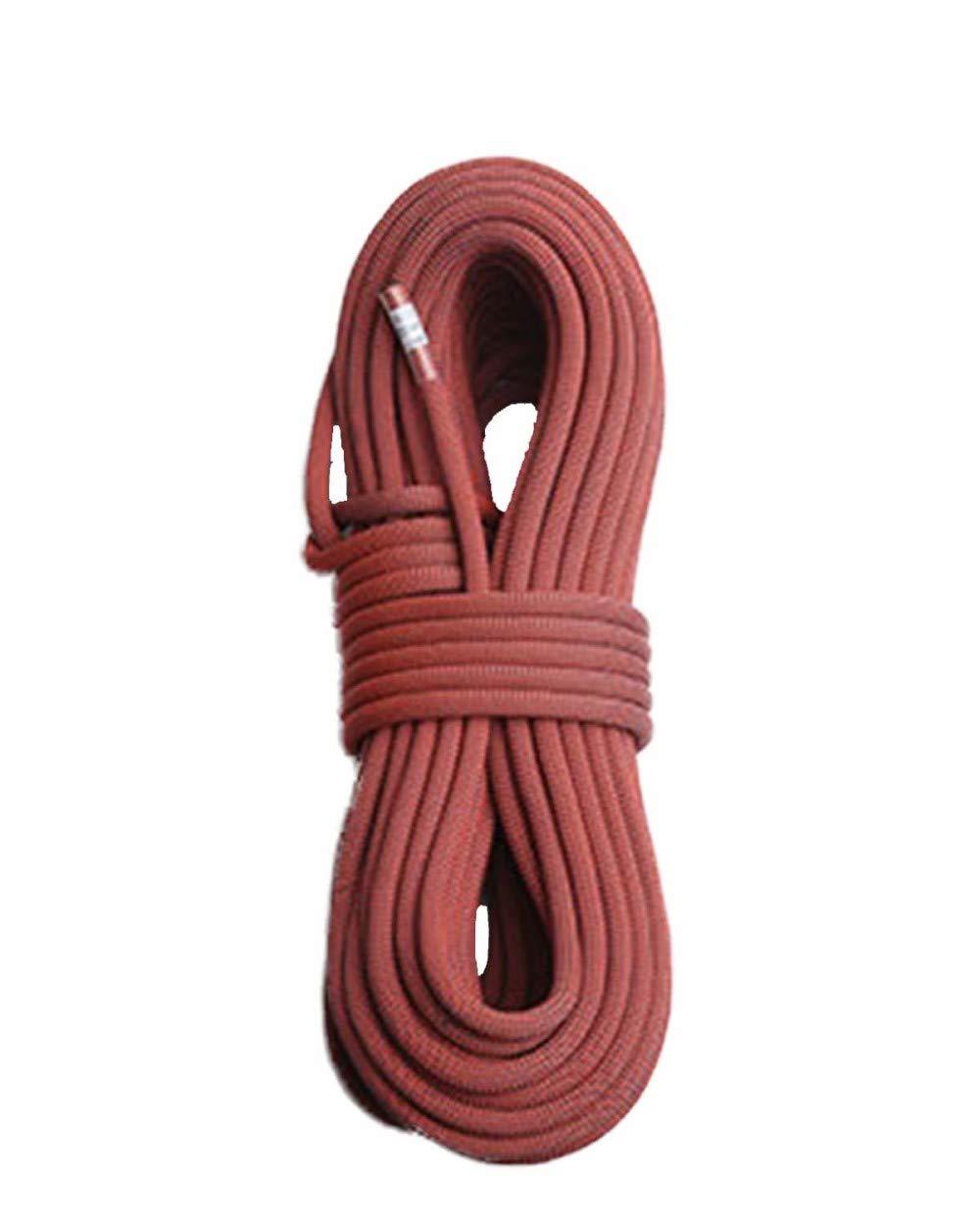 Rouge ZAIYI-Climbing rope Alpinisme en Plein Air, Camping De Sauvetage, Corde D'Usure Auxiliaire De Sécurité Fournie 9.8 10.5   11mm,vert-10m9.8mm 10m10.5mm