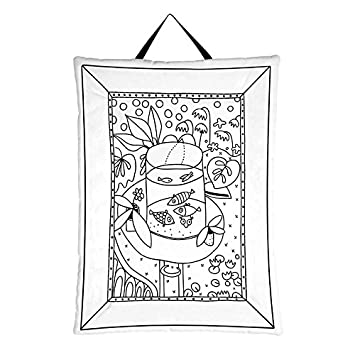 Labeltour Créations Cuadro Para Colorear Diseño De Peces