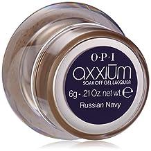 OPI Axxium Color Gel Russian Navy Nail Polish, 0.14 Ounce