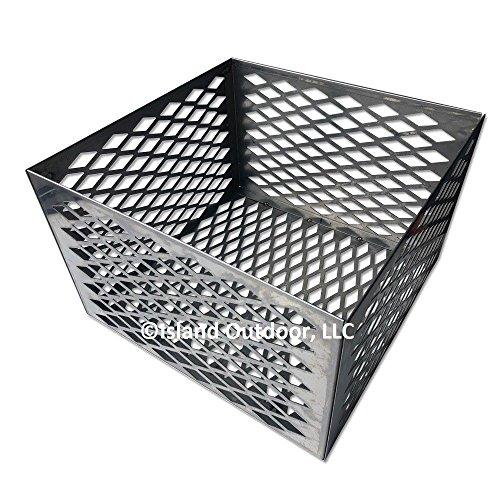 TimmyHouse Charcoal basket fire box Oklahoma Joe longhorn highland BBQ Smoker STAINLESS by TimmyHouse