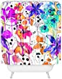 DENY Designs Holly Sharpe Lost In Botanica 1 Shower Curtain, 69 x 72