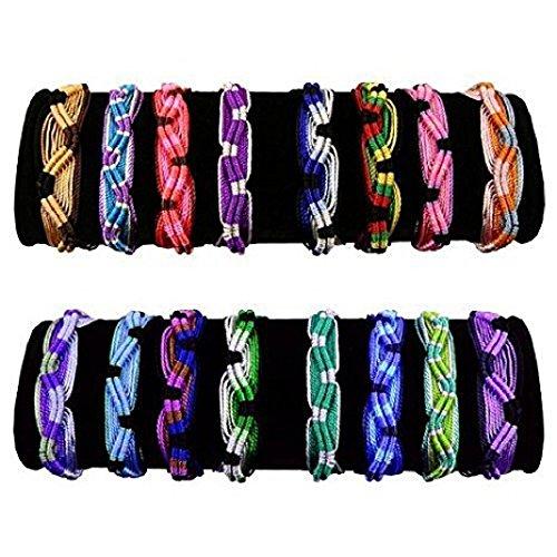 Friendship Bracelets Wide 50 Lot Wholesale Pack Multicolored Assortment Mix Peru Jewelry Hand Made