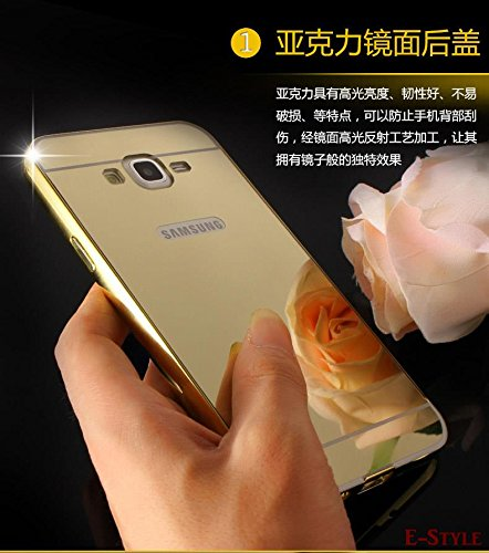 cheap for discount 4dbbb fde81 Kapa Luxury Mirror Effect Acrylic back + Metal Bumper Case Cover for ...