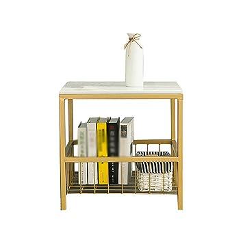 Cb CB Nachttisch, Marmor Sofa Kleine Couchtisch Kreative Wohnzimmer  Schlafzimmer Gold Nachttisch