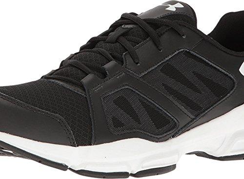 Under Armour Men's 'Zone 2' Training Shoe (10.5 4E - Extra Wide, Black/White/White)