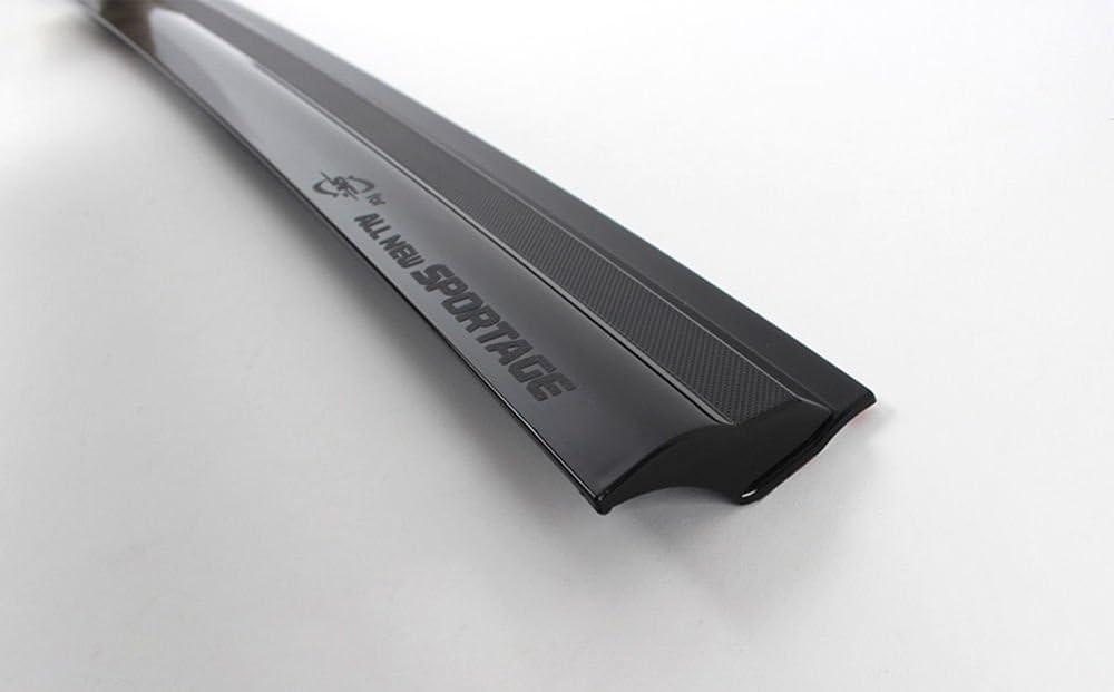 KISPR901-152 Accessori/Deflettore Vento Deflettore Pioggia Cromato 4/Pezzi per Finestra Laterale Anteriore e Posteriore cromo
