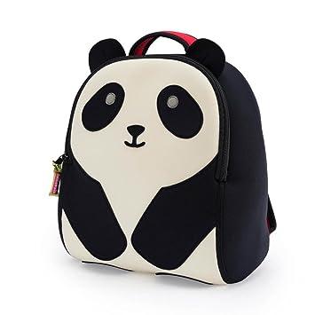 7247ba2efdd6 Amazon.com  Dabbawalla Bags Preschool   Toddler Panda Backpack ...