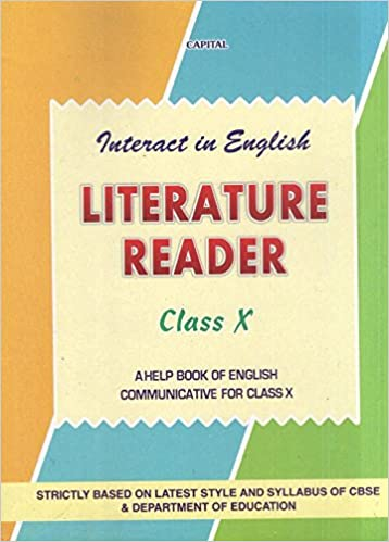 Ncert Solutions For Class 10 English Literature Pdf