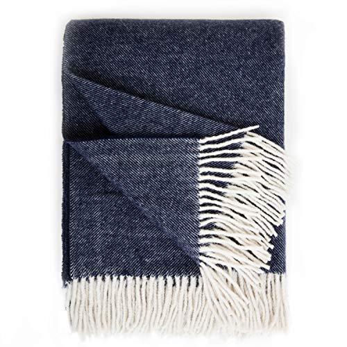 Bedsure WB1 Wool Blanket, Throw(50