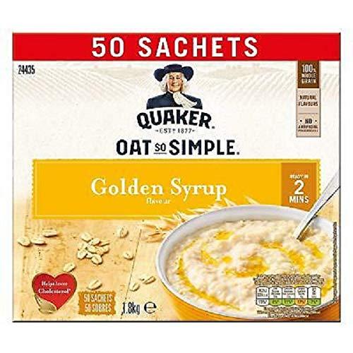 Quaker Oats Oat So Simple Golden Jarabe Sabor – 100 bolsitas