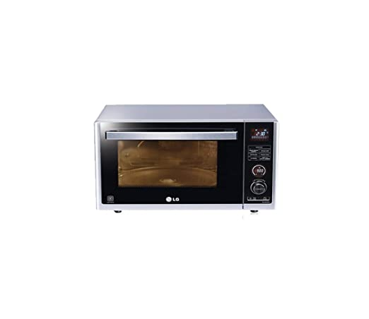 LG 32 L Convection Microwave Oven (MJ3283BCG, Silver)