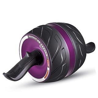 Olydmsky Ruota addominale Casa della ruota sano pancia degli uomini, i principianti di attrezzature fitness torna a giocare sottile pancia esercizi abs