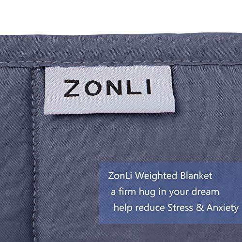 ZonLi Premium Weighted Blanket Bed Blankets