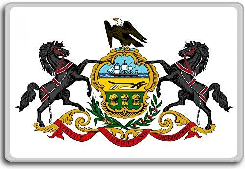 Coat Of Arms Of Pennsylvania, Usa fridge - Magnet Refrigerator Arms