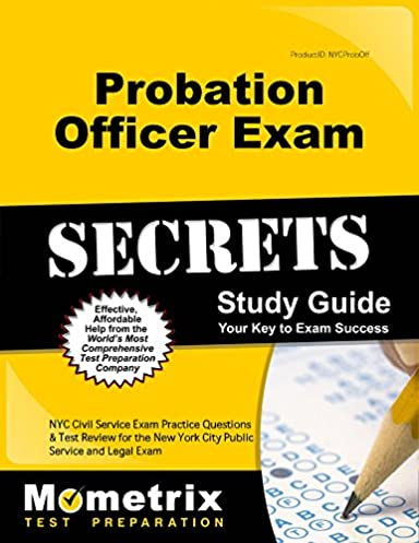probation officer exam secrets study guide nyc civil service exam rh amazon com Social Study Exam Grade 7 Example Study Guide Exam Outlines
