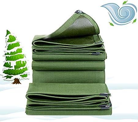HLEF Lona Impermeable Exterior Grande, Lonas Impermeable Toldo Invierno A Prueba de Viento Extremadamente Resistente a Prueba de Lluvia para jardín toldo 700g/m² 0.9mm,5X8m/16x20ft: Amazon.es: Deportes y aire libre
