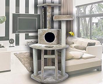 48u0026quot; Modern Cat Tree Tower Condo Furniture Scratch Post Kitty Pet House  Play Furniture Sisal