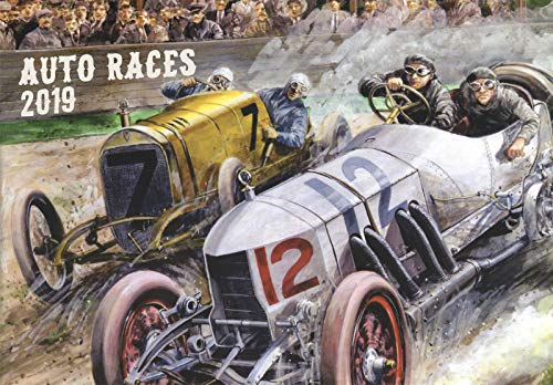 Page Race Poster - 2019 Wall Calendar [12 pages 8
