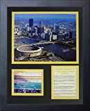 "Legends Never Die ""Pittsburgh Pirates Three Rivers Stadium"" Panoramic Framed Photo Collage, 11 x 14-Inch"