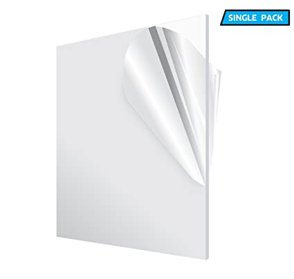 amazon com adiroffice acrylic plexiglass sheet transparent