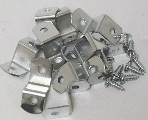"Extra Heavy Duty 1/2"" Canvas Offset Clips With Screws 20 Pack"