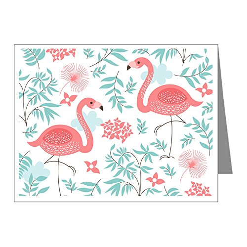 Pink Flamingo Note (CafePress - Pink Flamingos Note Cards - Blank Note Cards (Pack of 20) Matte)