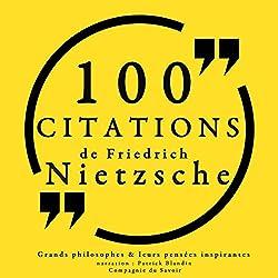 100 citations de Friedrich Nietzsche