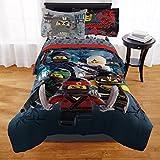 Lego Ninjago Kids Twin Bed Reversible Comforter