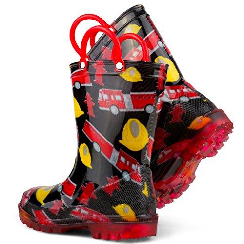 Chillipop Children's Light Up Rain Boots, Little Kids & Toddlers, Boys & Girls by Chillipop (Image #5)'