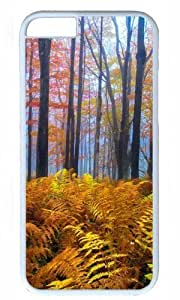 Beautiful Colored Trees Thanksgiving Halloween Masterpiece Limited Design PC White Case for iphone 6 by Cases & Mousepads