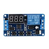 KKmoon 12V LED Automation Delay Timer Control Switch Relay Module with Case