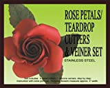 Rose Petal/teardrop Cutters & Veiners Set