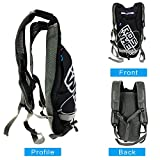 E-More Hydration Pack with 2 L Backpack Water Bladder for Adventure Lightweight Fits Men and Women for Hiking, Biking, Running, Walking and Climbing