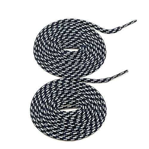 COOL LACE Round Athletic Shoelaces 1 Pair Pack,Shoe Laces for Sneakers (47.2