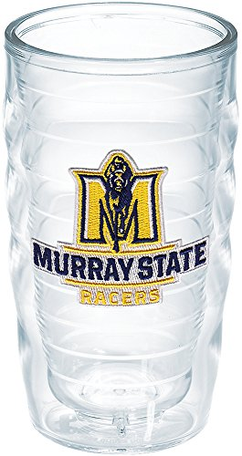 Tervis 1182824 Murray State University Racers Emblem Individual Tumbler, 10 oz, Clear -