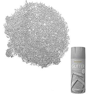 622f65381a2 Rust-Oleum Super Sparkly Sparkling Gold Or Silver Glitter Aerosol Spray  (400ml) Or Brush On…