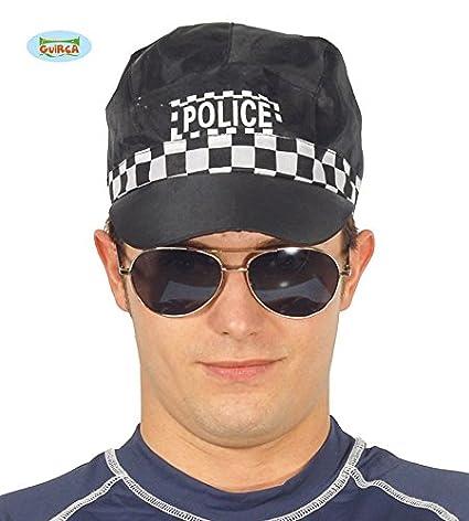 Gorra de Policía  Amazon.es  Juguetes y juegos 46e6444ed33