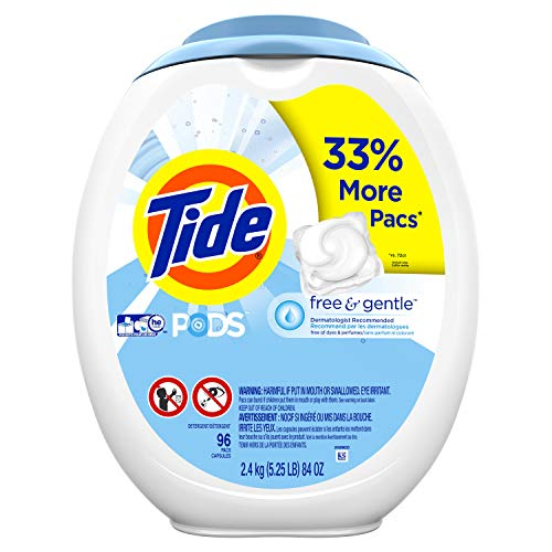 Top Detergent Pacs & Tablets
