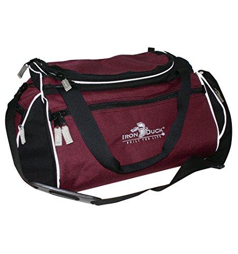 Iron Duck 36500 Burgundy Commmedone Community Paramedicine Bag For Mobile Integrated Healthcare Visits  1000D Nylon  Burgundy