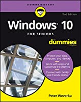 Windows 10 For Seniors For Dummies, 2nd Edition Front Cover