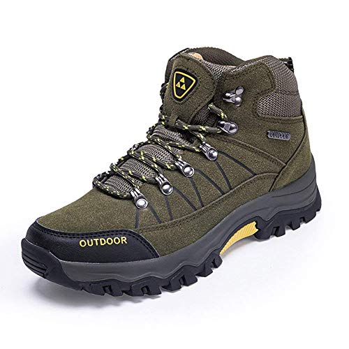 F1rst Rate Mens Hiking Boots Slip-Resistant High Top for sale  Delivered anywhere in USA
