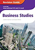 img - for Business Studies: Cambridge International As & a Level: Revision Guide book / textbook / text book