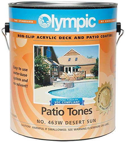 Olympic Patio Tones Deck Coating - Desert Sun - 6 ()
