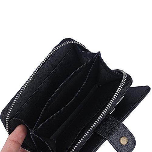 ubsma- Étui portefeuille sac à main de haute qualité pour Apple iPhone 5C Motif Split [Fonction]