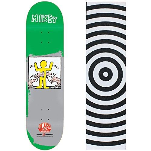 UPC 742091168930, ALIEN WORKSHOP KEITH HARING 2 Skateboard Deck MIKE TAYLOR 8.125 Target GRIP