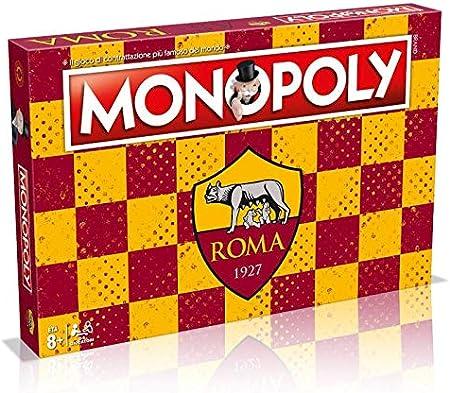 Winning Moves Juego de tavolo-Monopoly Equipos de Calcio-Roma Edición de colección, 31288: Amazon.es: Juguetes y juegos