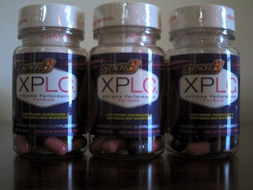Stacker 3 XPLC METABOLISME BOOSTER (3) 20 CT. BOUTEILLES