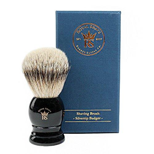 RoyalShave PB9 Silvertip Badger Hair Classic Wet Shaving Brush