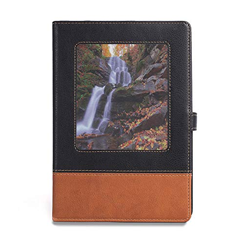 Leaf Waterfalls Copper (Soft Cover Notebook,Outdoor,A5(6.1
