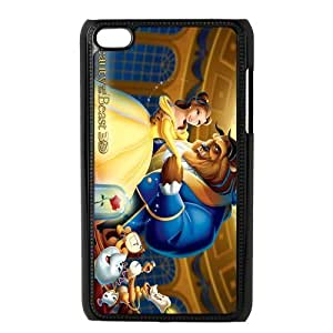 Custom Beauty And Beast Back Cover Case for ipod Touch 4 JNIPOD4-612